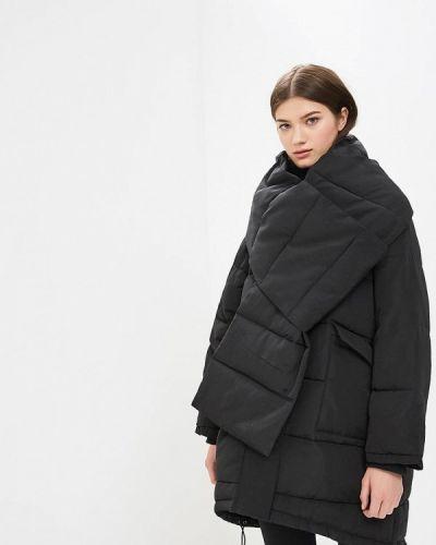 Зимняя куртка утепленная черная Top Secret