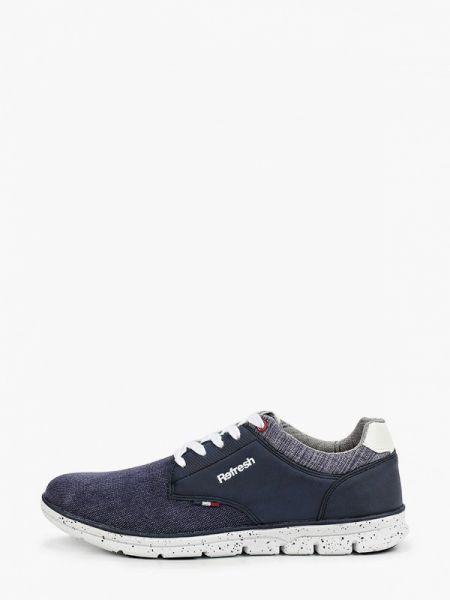Синие текстильные кроссовки Refresh