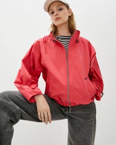 Облегченная красная куртка D`imma