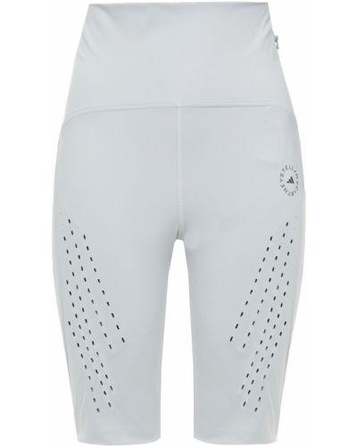 Тренировочные серые леггинсы с карманами Adidas By Stella Mccartney