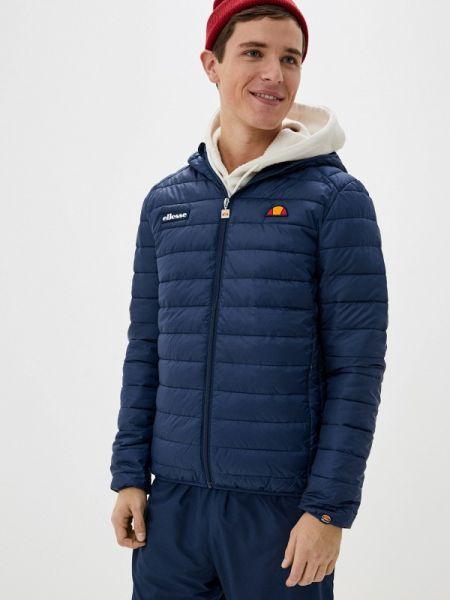 Утепленная куртка осенняя синяя Ellesse