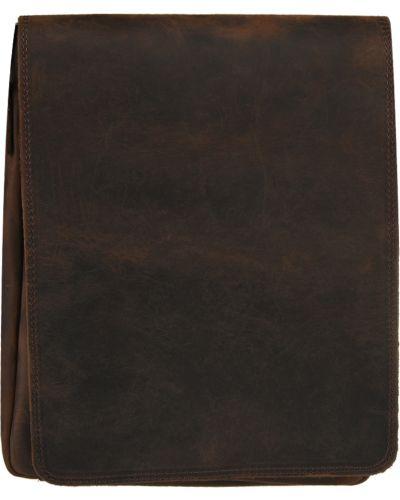 Кожаная сумка - коричневая Vera Pelle