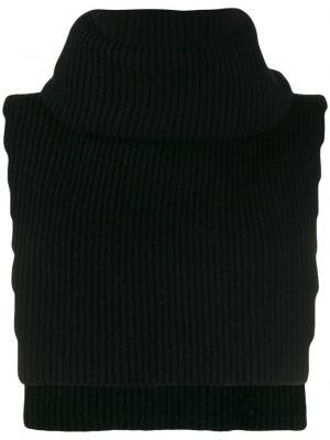 Трикотажная жилетка - черная Cashmere In Love