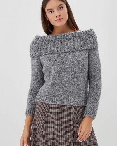 Серый свитер итальянский Perfect J