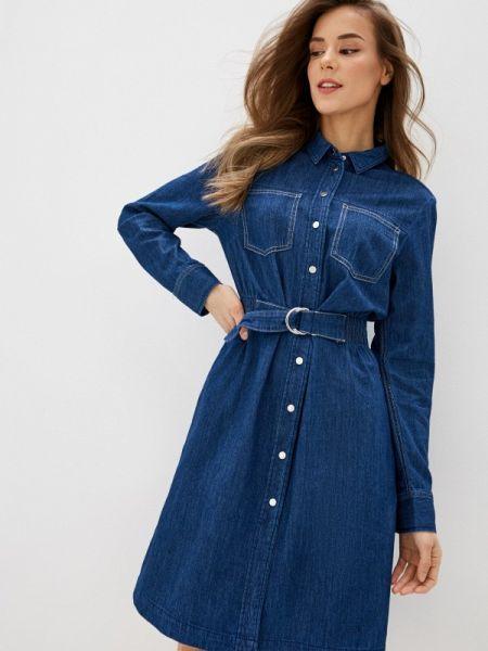 Джинсовое платье синее весеннее Q/s Designed By