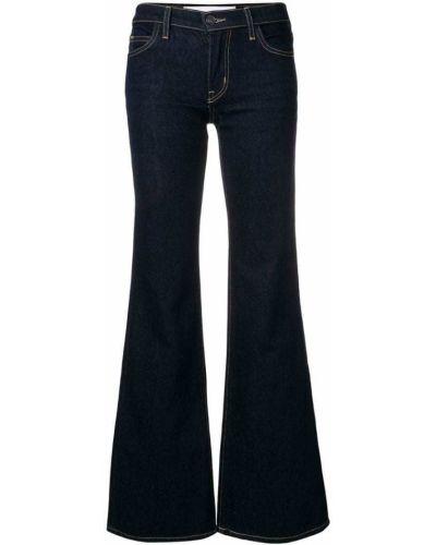 Расклешенные джинсы с низкой посадкой на пуговицах Current/elliott