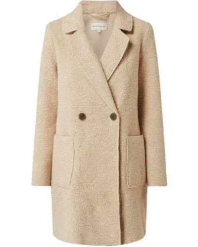 Beżowy płaszcz Tom Tailor