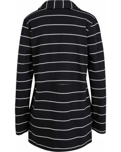 Трикотажный пиджак - черный Bonprix