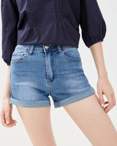 Синие джинсовые шорты Bruebeck