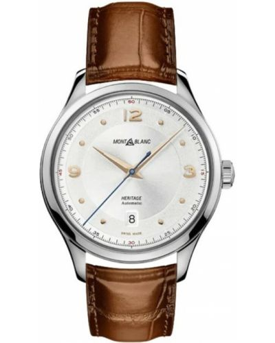 Brązowy zegarek Montblanc