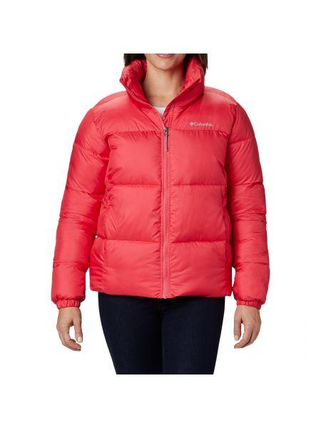 Розовая куртка Columbia