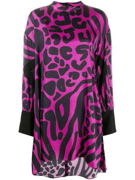 Платье макси длинное - черное Just Cavalli