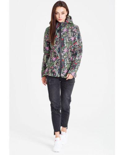 Куртка с капюшоном на резинке с карманами Naoko