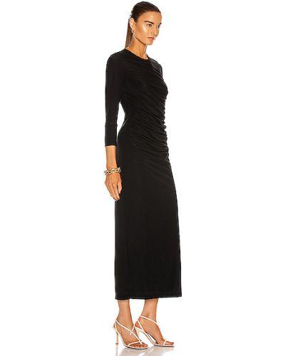Sukienka - czarna Helmut Lang