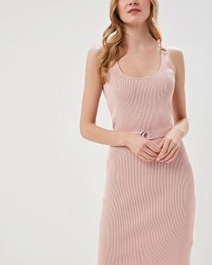 Платье розовое платье-майка Love Republic
