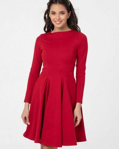 Прямое красное платье Lmp