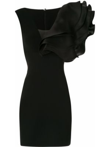 Платье оверсайз черное Isabel Sanchis