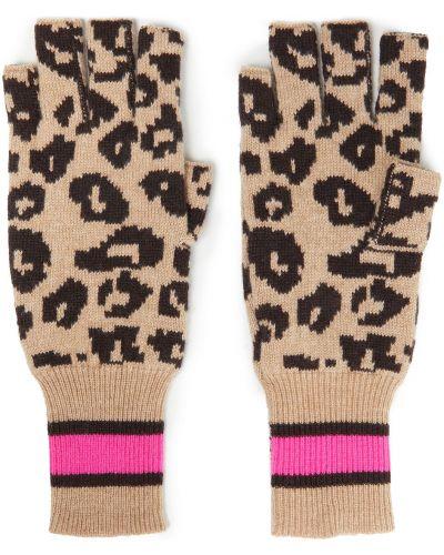 Rękawiczki bez palców - beżowe Autumn Cashmere