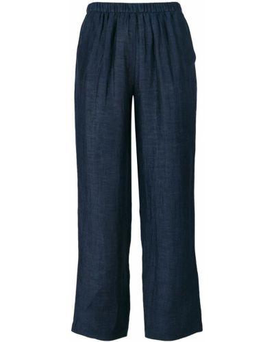 Синие укороченные брюки Masscob