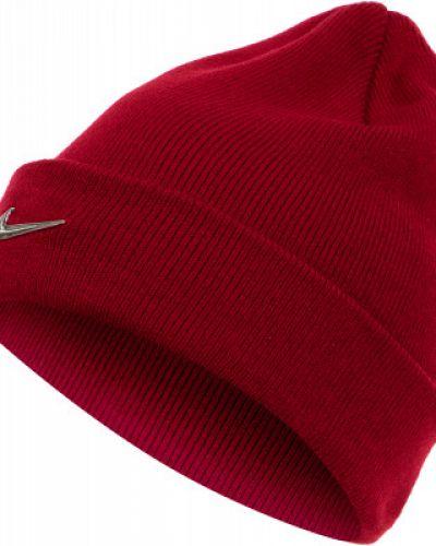 Шапка красная спортивный Nike