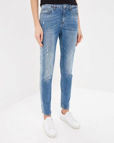 Голубые джинсы-скинни Liu Jo