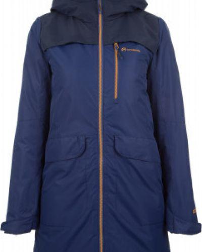 Утепленная куртка с капюшоном длинная Outventure
