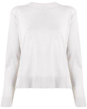 Длинный свитер из вискозы в рубчик с длинными рукавами Mrz