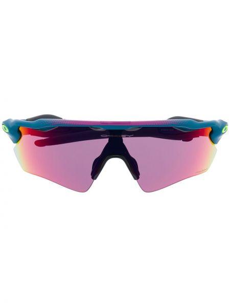 Розовые солнцезащитные очки Oakley