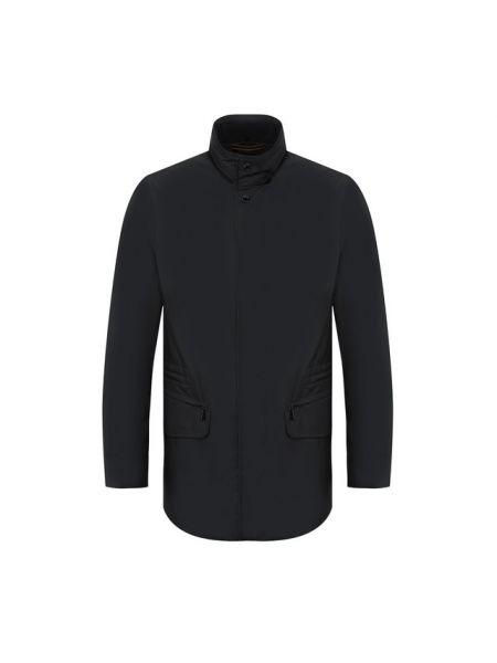 Синяя куртка с подкладкой Moorer