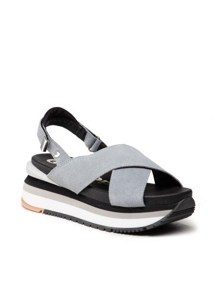 Niebieskie sandały na lato Gioseppo