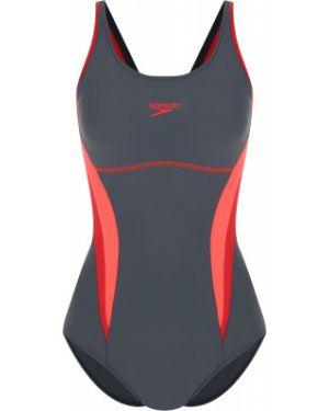 Спортивный купальник - серый Speedo