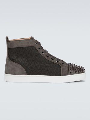 Sneakersy skorzane Christian Louboutin