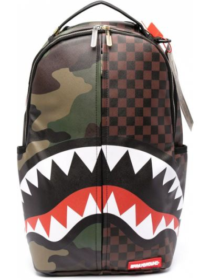 Камуфляжный рюкзак - коричневый Sprayground
