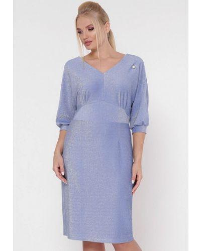 Вечернее платье весеннее фиолетовый Vlavi