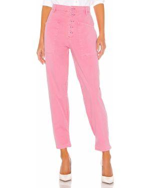 Różowe spodnie bawełniane Pistola