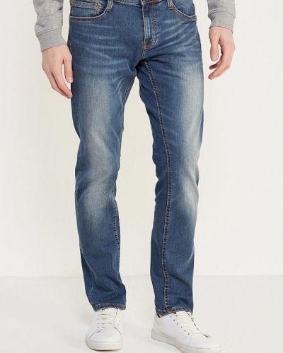 Синие джинсы-скинни Mustang