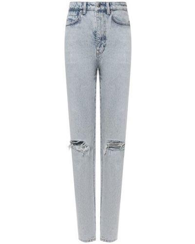 Хлопковые джинсы - синие Denim X Alexander Wang
