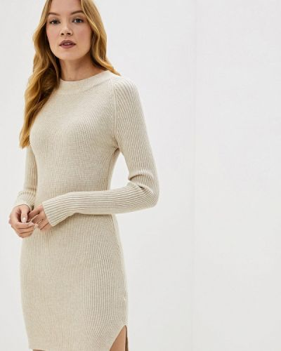 Платье - бежевое Bluoltre