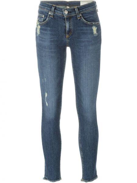 Укороченные джинсы синие Rag & Bone