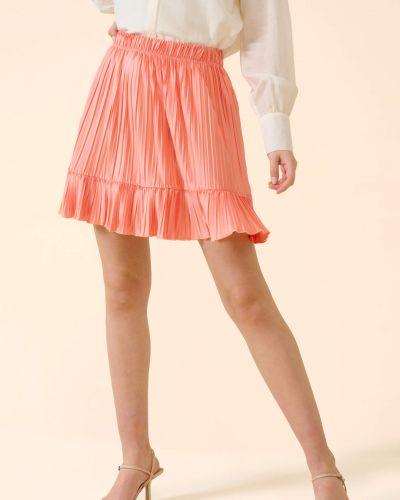 Pomarańczowa spódnica mini Orsay