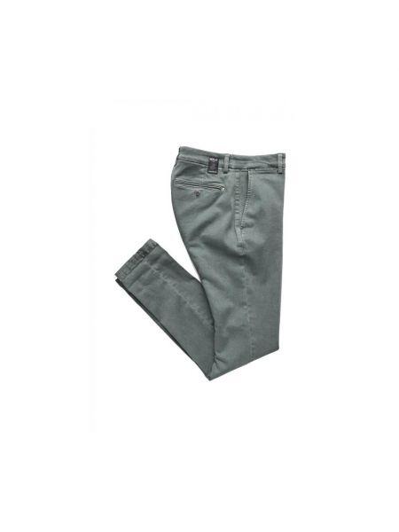 Szare spodnie z niskim stanem casual Replay