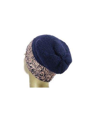 Синяя шапка шерстяная Patrizia Pepe