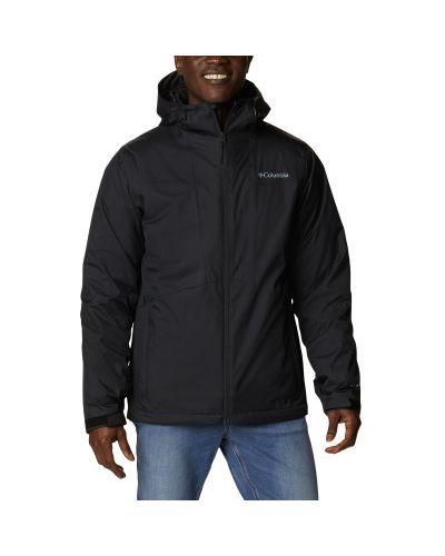 Черная нейлоновая куртка Columbia