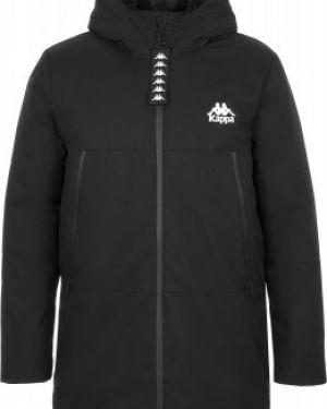 Утепленная куртка с логотипом Kappa