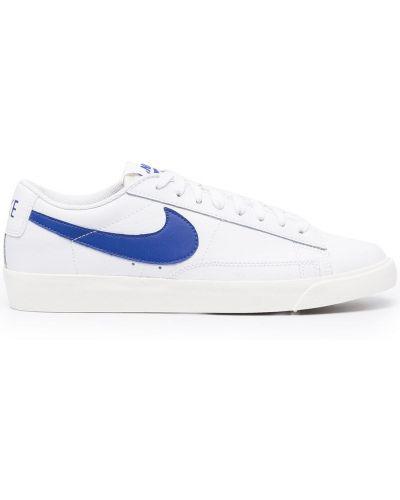 Biały koronkowa top zasznurować Nike