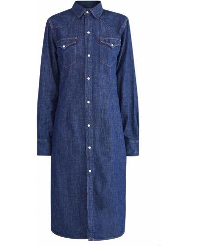 Платье платье-рубашка с манжетами Polo Ralph Lauren