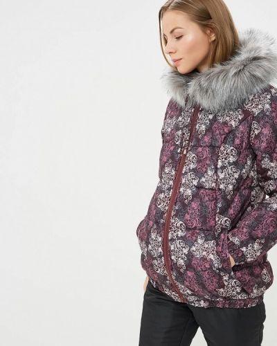 Утепленная куртка - фиолетовая очаровательная адель
