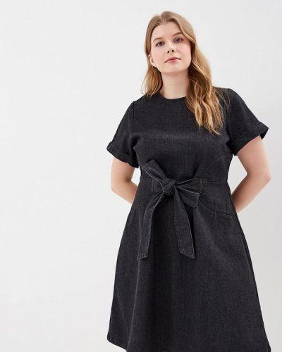 Черное джинсовое платье Lost Ink Plus