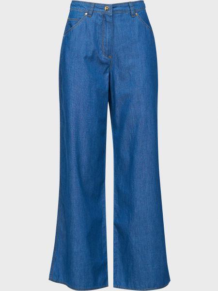 Хлопковые джинсы на молнии Luisa Spagnoli