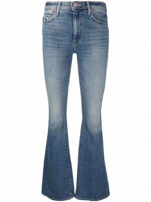 Синие джинсы из эластана Mother
